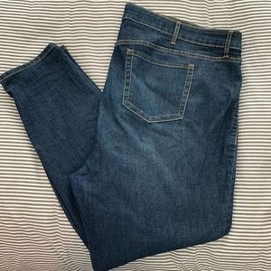 Torrid skinny jeans medium wash